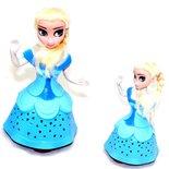 BS Snow Girl prinses pop - kan dansen en zingen - Elsa pop - met Licht en Geluid