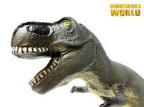 Dinosaurus T-rexSpeelgoed 56 Cm - zacht rubber - maakt dino geluiden - Dinoworld