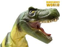 T-Rex Dinosaurus speelgoed - zacht rubber - maakt dino geluiden - Dinoworld- 50CM