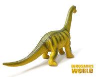 Diplodocus Dinosaurus speelgoed Prehistorie- zacht rubber - maakt dino geluiden - Dinoworld- 53 CM