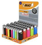 Bic aanstekers Mini - 50 stuks aanstekers - mini aansteker - mix color lighter
