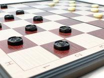 Schaakset en damset 2in1 pakket; schaakbord en dambord - Magnetisch Schaakset - Chess Set - Opklapbaar - 36x36 CM