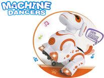 Interactieve Robot hond puppy - beweegt, danst, staat op zijn achterpoten en draait 360° - Machine Danser Robot Dog - 20CM