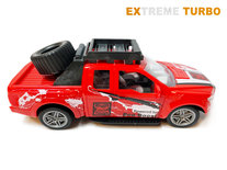 Rc auto Extreme Turbo rood  1:20 - radiografisch bestuurbare auto - 19 CM