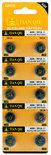Knoopcel batterijen AG 8 / 391A batterijen 10 stuks in pak