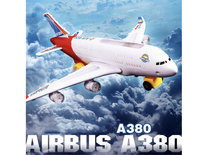 Airbus speelgoed vliegtuig  A380  met licht en geluid 44cm