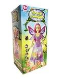 Dansende vlinder prinsesje pop fee met licht en muziek (26CM)