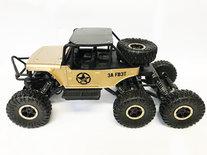 RC Rock Defender Off Road- 6x6 wheel drive - Bergbeklimmer -2.4Ghz | 1:12
