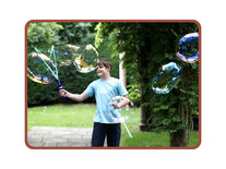 Bellenblaas zwaard - gigantische bubbels - Mega bubble Sword Groot 51CM