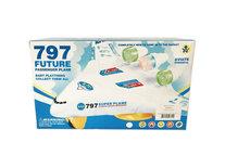 Future plane 797 - vliegtuig met led lichtjes en geluid - Jumbo Airplane 25CM