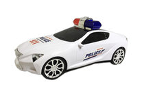 Politie auto - met geluid en lichtjes - Police flash speed car 25CM