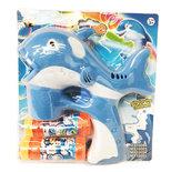 Bellenblaas pistool - geluid en lichtjes- Bubble gun blauw