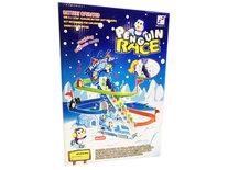 Pinguïn Race | Speelgoed pinguïns glijbaan met lichtjes en geluid 42CM