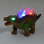 Rubiks Kubus 3X3X3 + Dinosaurus Stegosaurus  | Incl. Batterij