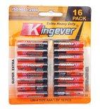 Kingever AAA batterij 16 in pak  voordeel pak!