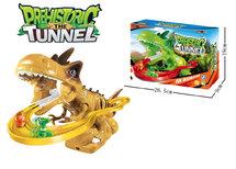 Prehistoric the Tunnel - Dinosaurus glijbaan tunnel speelgoed 30CM