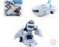 Airbus Deformation Transform Robot vliegtuig en robot 2in1 - met licht en geluid