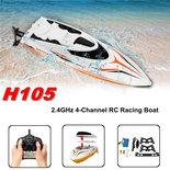 RC Race Boot H105- Water Wizard 2.4GHZ - Skytech SPEED 25KM (36CM)