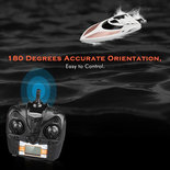 RC Boot H102- High Speed racing boot 2.4GHZ - SPEED 20KM - radio grafisch boot