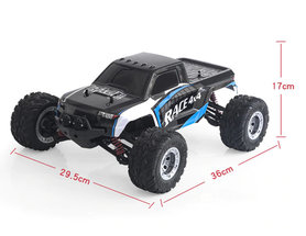 Rc Rock climber 4WD Buggy 2.4ghz - rc auto - Brushless motor - 80 meter