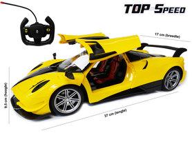 Radiografisch bestuurbare auto - Top Speed rc car - Deuren kunnen open/dicht (oplaadbaar) 37CM