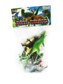 Dino World  Dinosaurus speelgoed set 10 stuks