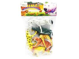 Wild Animal Speelgoed 6 stuks