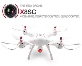 Syma X8SC HD camera quadcopter drone met 2MP 2.4ghz