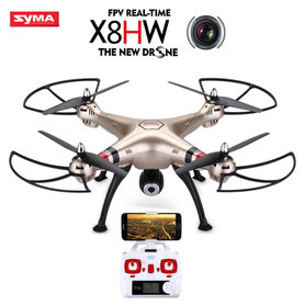 Syma X8HW Drone - FPV Live HD Camera 2.4GHZ +Hovermode systeem quadcopter