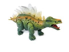 Dinosaurus speelgoed - Stegosaurus - met lichtjes en dinosaurus geluid  35CM
