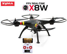 Syma X8W drone -FPV Live HD camera quadcopter - 2.4Ghz