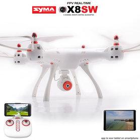 Syma X8SW Drone - FPV live HD camera Android&IOS - One Key Take-off/Landing