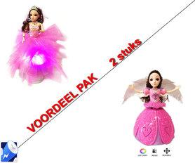 Little Princess Roze + Dancing Angel Girl roze| incl. Batterij