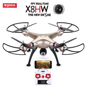 Syma x8hw Drone - FPV Live HD Camera quadcopter 2.4GHZ - Hovermode (barometer)