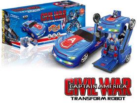 Robot Car 2 in 1 robot en auto   Mighty Righteous Hero