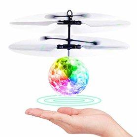 Flying Ball crystal ball zwevende disco bal met Led-infraroodsensor - Hand bestuurbaar Vliegende Bal