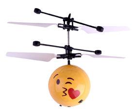 BS Flying Ball Emoji  zwevende bal met Led-infraroodsensor - Hand Vliegende Bal