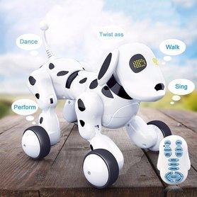 BS Rc Robot hond Dalmatiër - Smart pet -Rc Dogg - (oplaadbaar) 27CM