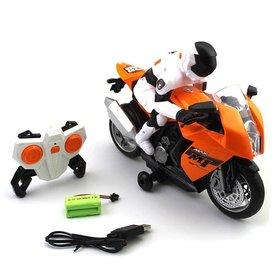 BS Rc Motorfiets op 2,4 GHz- Radiografisch bestuurbaar motorfiets