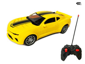 RC chevy cama Auto - radiografisch bestuurbaar race auto -Emulation Car 1:16(OPLAADBAAR)