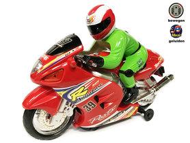 Speelgoed motor / racemotor met geluid en lichtjes  Motorcycle Racer