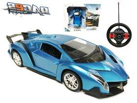 BS Rc race Auto  - stuurwiel zender - oplaadbaar auto 1:14