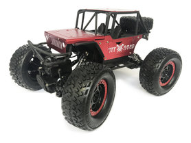 Rc Rock Metal Crawler 4x4 off-road auto 1:14 - bergbeklimmer 2.4GHZ rood