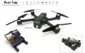 MJX Bugs 4W Drone - 5G Wifi FPV 2K Camera - Brushless GPS - opvouwbaar bugs 4w -Single‑axis Gimbal
