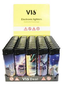 Klik aanstekers 50 in tray navulbaar aansteker - VIO deal