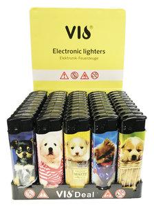 Klik aanstekers 50 in tray navulbaar- electronic aanstekers Vio deal