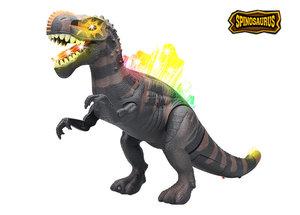 Dinosaurus speelgoed - Tyrannosaurus Rex - met dinosaurus geluid 41 CM