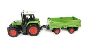Speelgoed traktor met laadbak - maakt 3 soorten geluiden en lichtjes - 39CM tractor