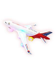 Airbus speelgoed vliegtuig met geluid en lichtjes 30.5CM