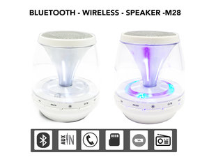 Wireless Bluetooth Mini Speaker  Draagbaar&Oplaadbaar -wit